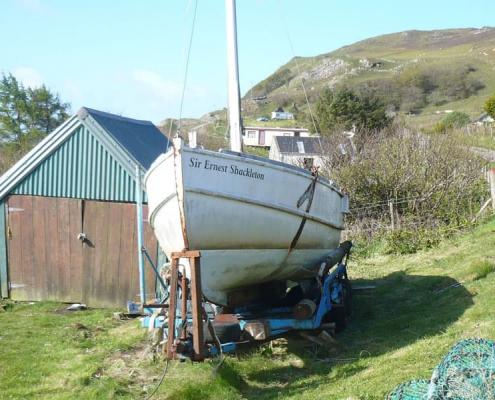 Caird replica-TrevorPottsproject-Sir Ernest Shackleton