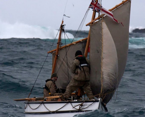 Epic Expedition- The Alexandra Shackleton under sail